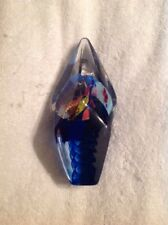 Signed-Sterno- Glasshouse Studio WOA Art Glass Paperweight Sculpture Seattle