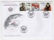 MONACO FDC timbres oblitérés 2008 année polaire Internationale 2007-2008 /B1FDC