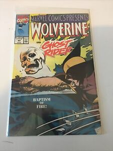 Marvel Comics Presents #65 Wolverine and Ghost Rider