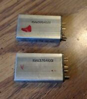 Pair of GE Ericsson MPX VHF Receive RX Transmit TX Channel Element Crystals