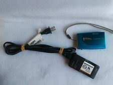 Fuji FinePix Z20FD 10MP 3X Zoom Blue Digital Camera MPEG-4 + battery + charger