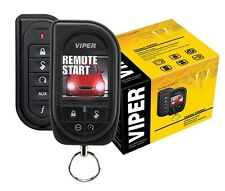 Viper 5906V Car Remote Start & Alarm 1 Mile Range Color OLED 2-Way Remote New