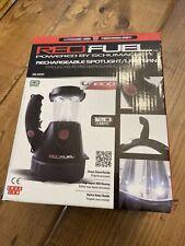 New Schumacher Red Fuel Rechargeable Lithium Ion Spotlight/Lantern SL155 AC/DC