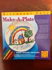 New In Box Discovery Toys Make A Plate Kids Educational Art Design Keepsake
