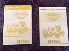 Suzuki SV 650 / S Handbuch