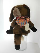 """Woof & Poof: Plush Donkey Musical Wind Up Plays """"Don'T Fence Me In"""" New With Tag"""