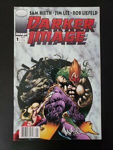DARKER IMAGE #1 NEWSSTAND EDITION (1993) RARE 1ST APP DEATHBLOW High Grade