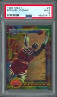 1993 Topps Finest #1 Michael Jordan Card PSA 9 (46979717)