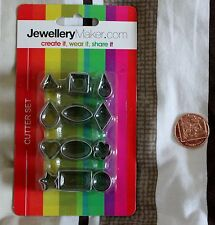 jewellery maker 12 piece shape clay cutter set crafts tools new polymer art clay