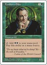 FYNDHORN ELDER Fifth Edition MTG Green Creature — Elf Druid Unc