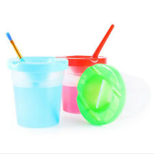 1Pc DIY Children Washing Cup Writing Brush Cup Painting Handmade Accessories US