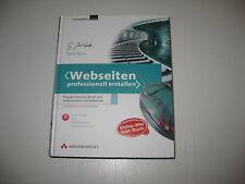Webseiten professionell erstellen von Stefan Münz (2008, Gebunden)