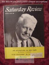 Saturday Review August 9 1958 BERNT BALCHEN ERSKINE CALDWELL LEO TOLSTOY