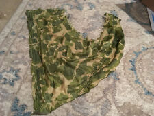 WWII US Army Airborne 101st 82nd 17th Parachute Camouflage Scarf Repro