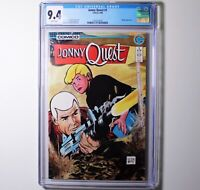 Vintage 1986 JONNY QUEST #1 CGC 9.4 White Pages Copper Age Comic Book