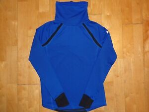 UNDER ARMOUR COLD GEAR Reactor Run FITTED Facemask Funnel Neck Small S Pullover