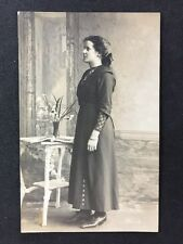 Vintage Postcard - Anonymous People : Woman - #A34 - Heawood & Co Hinckley