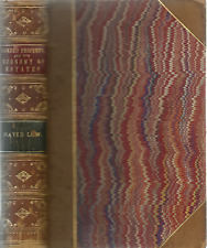 ON LANDED PROPERTY, AND THE ECONOMY OF ESTATES BY DAVID LOW, 1856 , ARISTOCRATIC