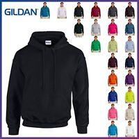 New Gildan Heavy Blend Hooded Pullover Sweatshirt Blank  Fleece Hoodie S-5XL