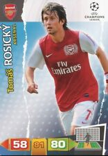 TOMAS ROSICKY REP.CZECH ARSENAL FC CARD ADRENALYN CHAMPIONS LEAGUE 2012 PANINI