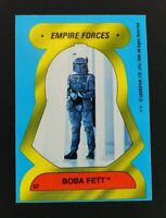 1980 Topps Star Wars Empire Strikes Back Stickers Boba Fett Card #57