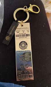 Cirque Du Soleil Montreal 1984 Gold Ticket Keychain New NWT Rare