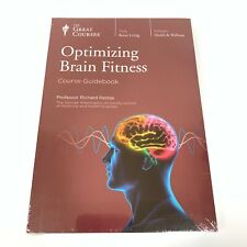 The Great Courses: Optimizing Brain Fitness - DVD and Guidebook New