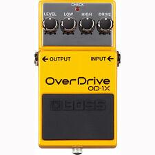 Boss OD-1X Overdrive Pedal +Picks