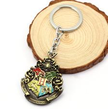 Harry potter keychain metal Poudlard Hogwarts keychain keyring pendant