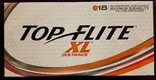 New Top Flite XL Distance Orange Golf Balls 1box 18 Balls