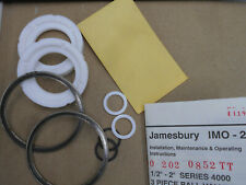 "JAMEBURY RKN 112 TT 2"" BALL VALVE REBUILD KIT"