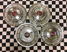 1957 57 Buick Special & Century 15inch wheel hub caps GM OEM