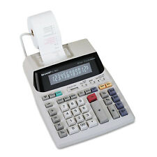 Sharp El-1801V Two-Color Printing Calculator Black/Red Print 2.1 Lines/Sec