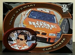Tony Stewart 2001 Press Pass Cup Chase #CC9 (#20 Home Depot Pontiac)