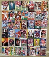 Joe Montana - San Francisco 49'ers -  HOF - 50ct Card Lot