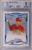 Zack Wheeler 2008 AFLAC Bowman Rookie Card RC graded BGS PSA 9 MINT Phillies