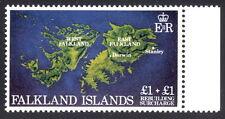 Falklands SG #430w Rebuilding £1+1 watermark variety UMM/MNH