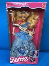 1991 American Beauty Queen Barbie Doll Mattel Blonde 90's