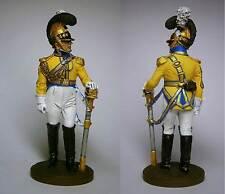 PEINT! L'officier saxon Garde du Corps 1812 / 54mm