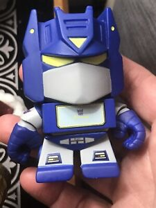 Loyal Subjects Transformers Vinyl Figure Wave 1 SOUNDWAVE Loose NO WEAPONS