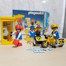 PLAYMOBIL # 3231 PHONE BOOTH AND MAILMEN