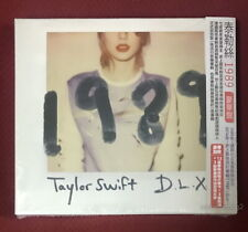 Taylor Swift 1989 Deluxe Version Taiwan Ltd CD w/OBI +13 photo cards