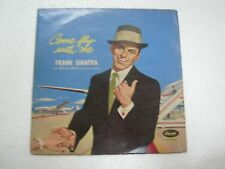 FRANK SINTARA WITH BILLY MAY  COME FLY WITH ME  RARE LP RECORD vinyl  INDIA  ex