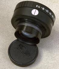 Nice Schneider G Claron 150mm f/9 Darkroom Enlarging/Enlarger lens w/caps + ring