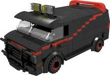 CUSTOM building INSTRUCTION for A-TEAM VAN male tank to build from LEGO® parts