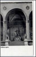 München Bayern alte Postkarte ~1930/40 Partie an der Feldherrenhalle ungelaufen