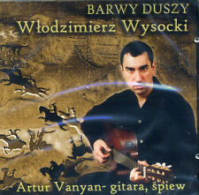 CD ARTUR VANYAN Barwy duszy / WYSOCKI