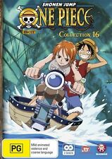 One Piece (Uncut) Collection 16 (Eps 196-205) NEW R4 DVD