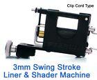STEALTHLITE ALL PURPOSE 3mm Stroke Rotary Tattoo Machine Supply Clip Cord