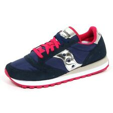 G0860 sneaker donna SAUCONY JAZZ ORIGINAL blue shoes woman